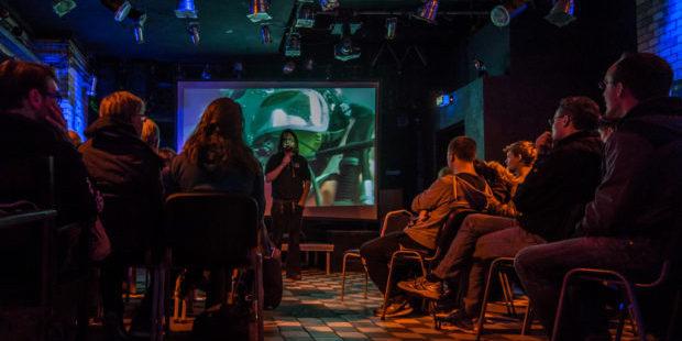 Lange Nacht des tauchens - Vortrag von Ulf Schleth zur Ausbildung der Forschungstaucher*innen | Foto: Michael Beyer