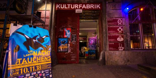Lange Nacht des tauchens - Eingang | Foto: Michael Beyer