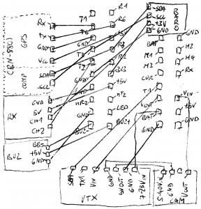 "iflight SucceX-E F405 wiring ""diagram"""