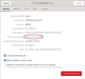 Ubuntu: Hier steht die MAC-Adresse ihres aktuellen WLAN/WiFi-Adapters