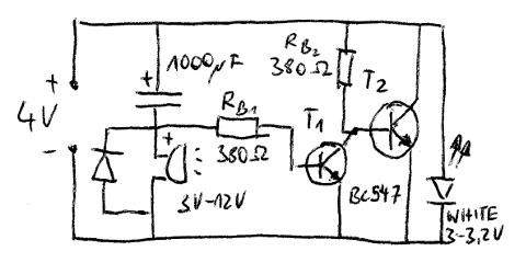 Signal beim Einschalten - Schaltung 2
